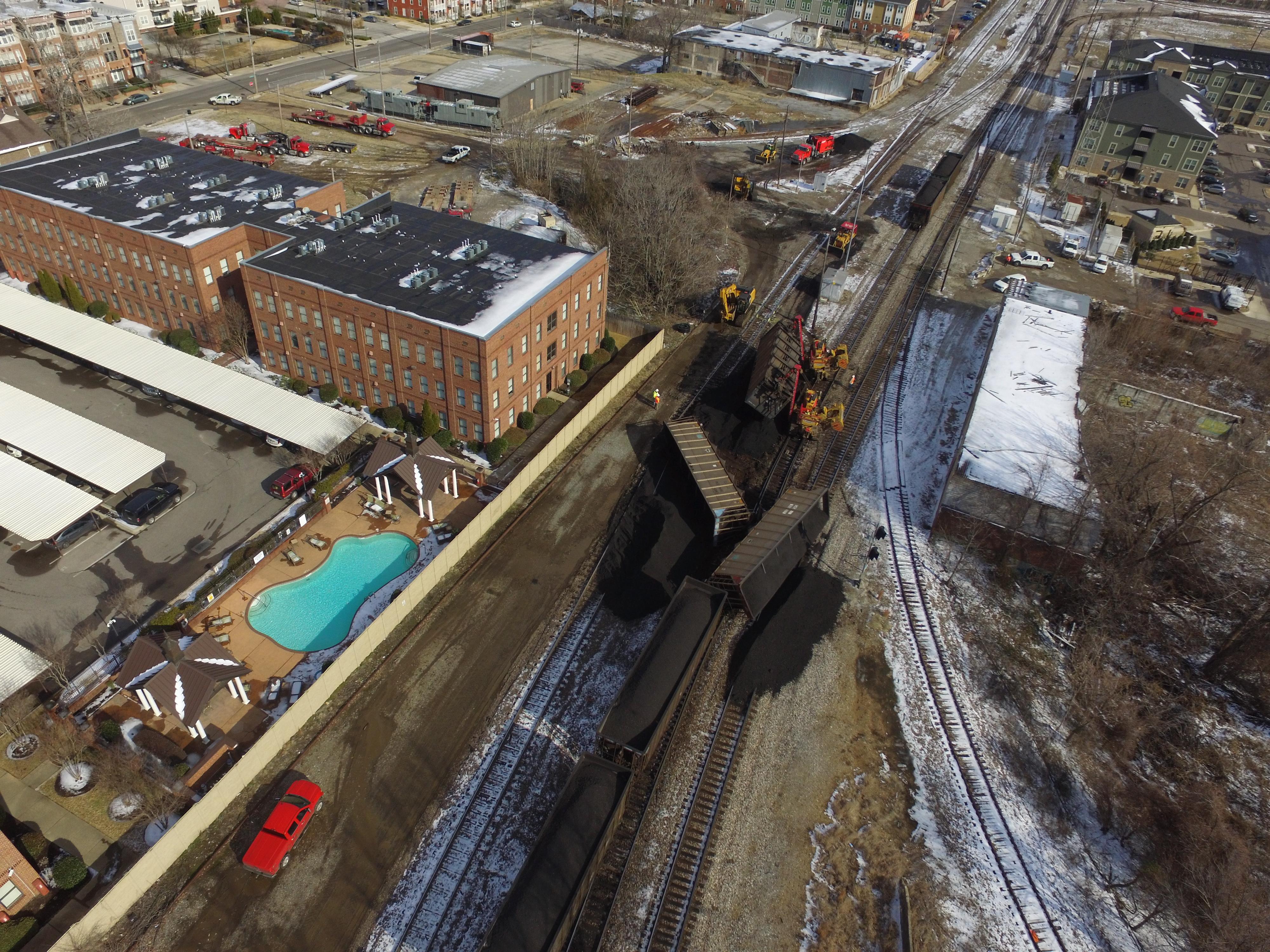 UP Coal Train Derailment: The GreatRails North American